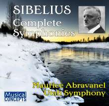 Jean Sibelius (1865-1957): Symphonien Nr.1-7, 3 CDs