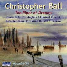 "Christopher Ball (20.Jh.): Blockflötenkonzert ""The Piper of Dream"", CD"