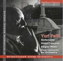 Yuri Alexandrovich Falik (1936-2009): Violinkonzert, CD