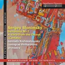 Sergei Slonimsky (geb. 1932): Symphonie Nr.2, CD