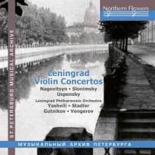 Leningrad Violin Concertos, CD