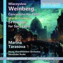 Mieczyslaw Weinberg (1919-1996): Concertino op.43 für Cello & Orchester, CD