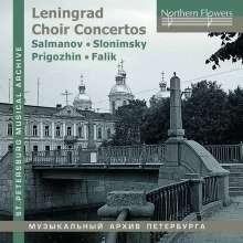 Leningrad Choir Concertos, CD