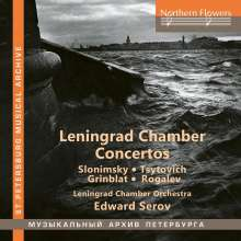 Leningrad Chamber Concertos, CD