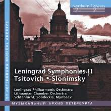 Leningrad Symphonies II, CD