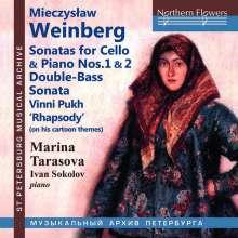 Mieczyslaw Weinberg (1919-1996): Cellosonaten Nr.1 & 2 (op.21 & 63), CD