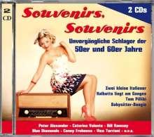 Souvenirs, Souvenirs (50er & 60er Jahre), 2 CDs