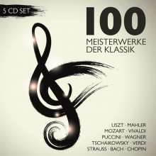 100 Meisterwerke der Klassik, 5 CDs