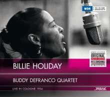Billie Holiday & Buddy DeFranco: Billie Holiday & Buddy DeFranco Quartet - Live In Cologne 1954, CD