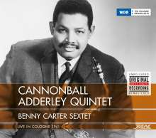 Cannonball Adderley & Benny Carter: Live In Cologne 1961, CD