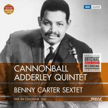 Cannonball Adderley (1928-1975): Live In Cologne 1961 (remastered) (180g), LP