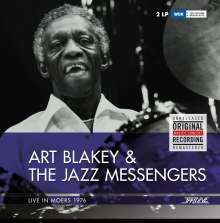 Art Blakey (1919-1990): Live In Moers 1976 (remastered) (180g), 2 LPs