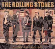 The Rolling Stones: On The Air 1963 - 1965, 4 CDs