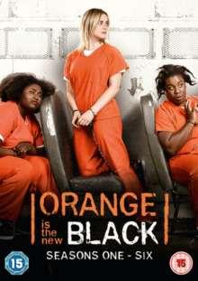 Orange is the New Black Season 1-6 (UK Import), 24 DVDs