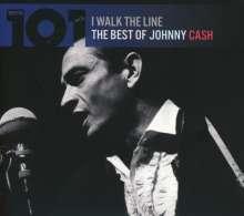 Johnny Cash: I Walk The Line - The Best Of Johnny Cash, 4 CDs