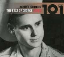 George Jones (1931-2013): 101: White Lightning: The Best Of George Jones, 4 CDs