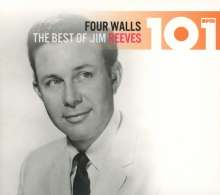 Jim Reeves: 101: Four Walls - The Best Of Jim Reeves, 4 CDs