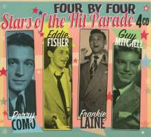 Four By Four: Stars Of The Hit Parade, 4 CDs