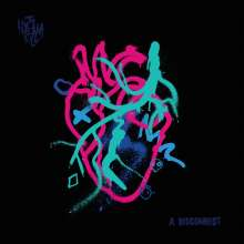 The Hyena Kill: A Disconnect (Neon Pink with Blue Splatter Vinyl), LP
