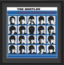 The Beatles: A Hard Day's Night – Kunstdruck im Holzrahmen (Schwarz, 50 cm), Merchandise