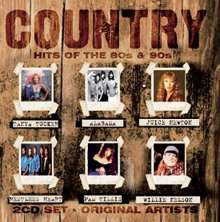 Country Hits Of The 80's & 90's, 2 CDs