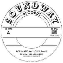 "International Soleil Band: Ta Lassa, Single 12"""