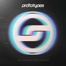 The Prototypes: Ten Thousand Feet & Rising (White Splatter Vinyl), LP