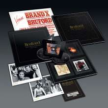 Bill Bruford: Seems Like A Lifetime Ago  (Box Set) (Limited-Numbered-Edition), 6 CDs und 2 DVDs