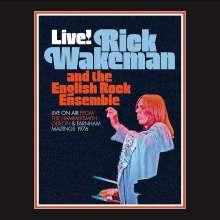Rick Wakeman: Live On Air: From The Hammersmith Odeon & Farnham Maltings 1976, 2 CDs