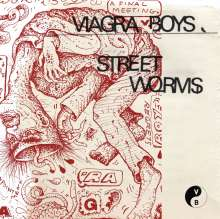 Viagra Boys: Street Worms (180g) (Clear Vinyl), LP