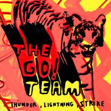 The Go! Team: Thunder Lightning Strike (15th Anniversary Edition) (180g) (Silver Vinyl), LP