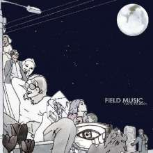 Field Music: Flat White Moon (Limited Indie Exclusive Edition) (Transparent Vinyl), LP
