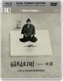 Harakiri (1962) (Blu-ray & DVD) (UK Import), 1 Blu-ray Disc und 1 DVD