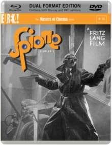 Spione (1927) (Blu-ray & DVD) (UK Import), 2 Blu-ray Discs