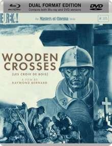 Wooden Crosses (Blu-ray & DVD) (UK Import mit deutscher Tonspur), 2 Blu-ray Discs