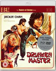 Drunken Master (Blu-ray & DVD) (UK-Import), Blu-ray Disc