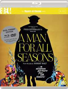 A Man For All Seasons (1966) (Blu-ray & DVD) (UK-Import), 2 Blu-ray Discs