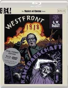 Westfront 1918 / Kameradschaft (1930) (Blu-ray & DVD) (UK-Import mit deutscher Tonspur), 3 Blu-ray Discs