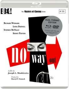 No Way Out (1950) (Blu-ray & DVD) (UK Import), DVD