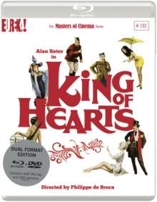 Le roi de coeur (King of Hearts) (Blu-ray & DVD) (UK Import), 2 Blu-ray Discs