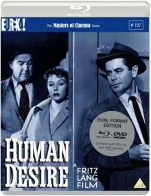 Human Desire (1954) (Blu-ray & DVD) (UK Import), Blu-ray Disc
