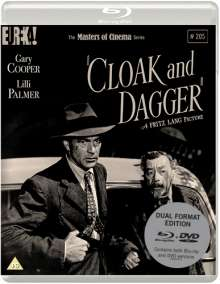 Cloak And Dagger (1945) (Blu-ray & DVD) (UK Import), 1 Blu-ray Disc und 1 DVD