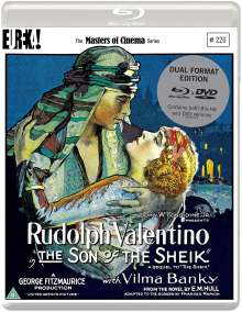 The Son Of The Sheik (1926) (Blu-ray & DVD) (UK-Import), 2 Blu-ray Discs
