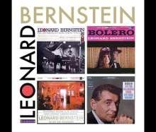 Leonard Bernstein - Dirigent & Pianist, 4 CDs