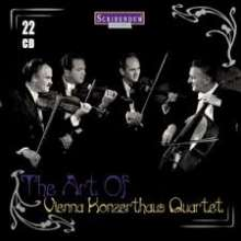 Wiener Konzerthaus Quartett - The Art of Wiener Konzerthaus Quartett, 22 CDs