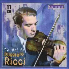 Ruggiero Ricci - The Art of Ruggiero Ricci, 11 CDs