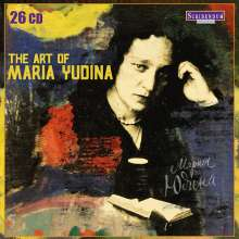 Maria Yudina - The Art of Maria Yudina, 26 CDs