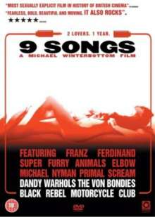 9 Songs (UK Import), DVD