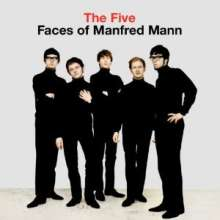 Manfred Mann: The Five Faces Of Manfred Mann (mono), LP
