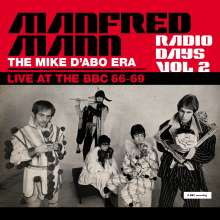 Manfred Mann: Radio Days Vol 2 - Live At The BBC 66-69 (The Mike D'Abo Era) (180g), 3 LPs